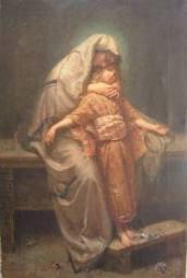 Maria con Gesù adolescente