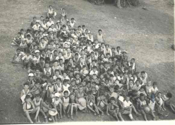Primi bambini ospitati nel Villaggio Don Bosco di Tivoli