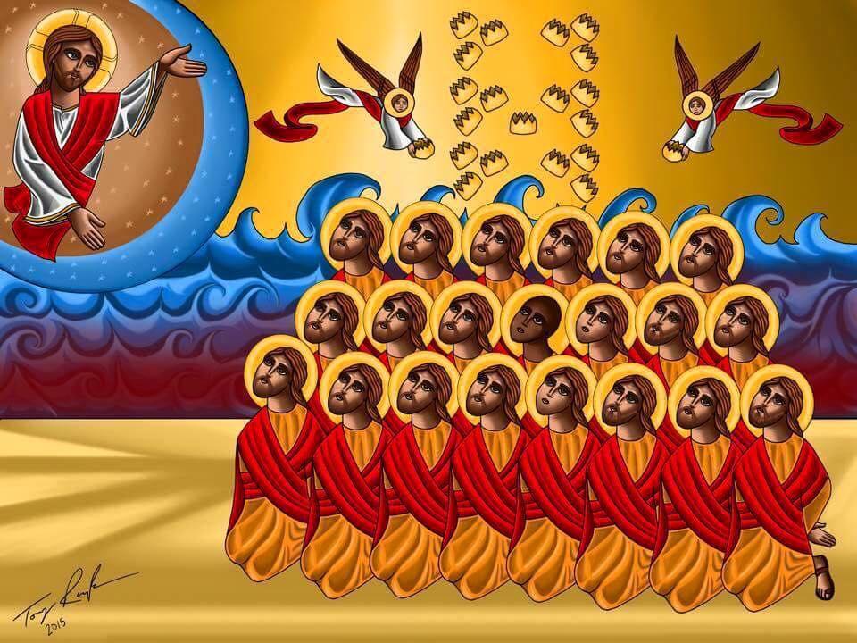 cristianofobia_06_I 21 martiri copti inseriti nel Sinassario copto (Martirologio della Chiesa copta) e verranno festeggiati l'8 amshir-15 febbraio